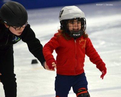 École de patin courtes lames
